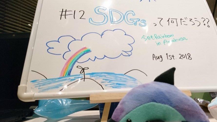 イルカラボ#12 SDGsって何?