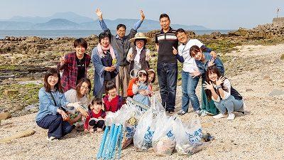 5/6 ビーチクリーン with 若っ人ランド