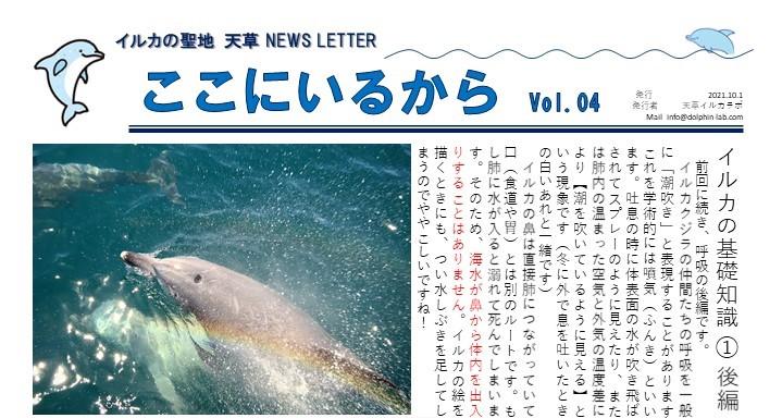 天草エアラインの10月号、イルカラボの連載記事が更新されました